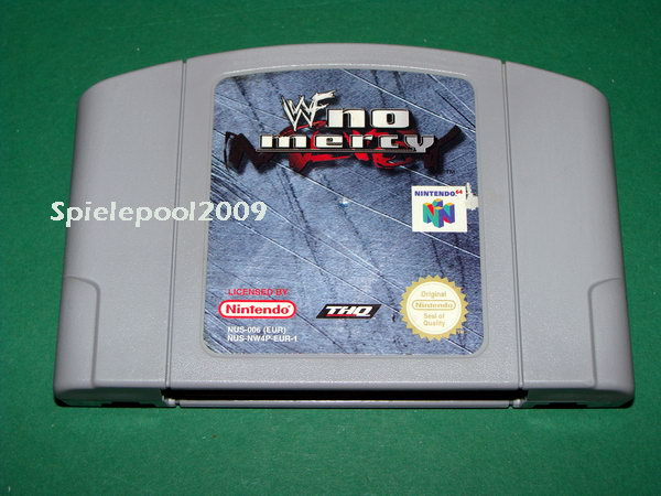racketboy com • View topic - Wanted: WWF No Mercy N64 NTSC